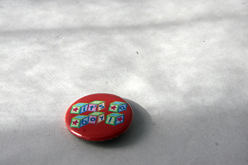 badges and booster buttons example