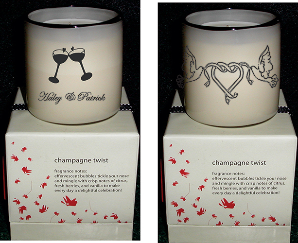 wedding and special occasion engraving example